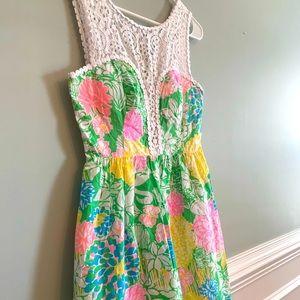 Lilly Pulitzer Raegan Dress Hibiscus 🌺 Stroll 4
